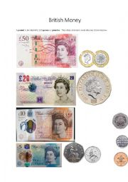 British Money and Basic Slang Expressions