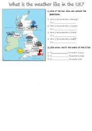 What is the weather like in the UK?