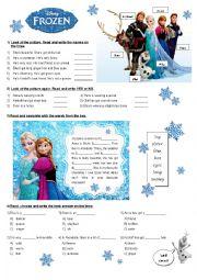 Frozen activities