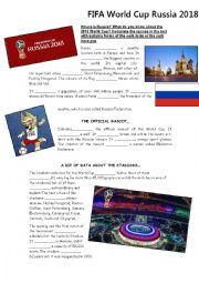 World Cup Russia 2018 - A bit about Russia