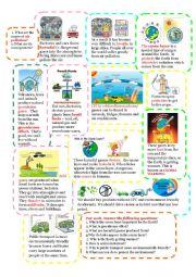 English Worksheet: air pollution