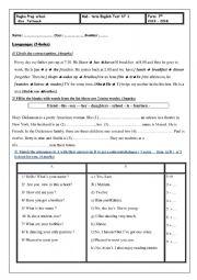 mid-term test n1