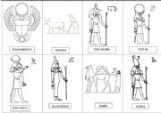 English Worksheet: Egypt Vocabulary for painting 2