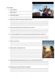 The Bucket list Movie questions