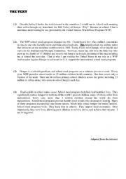 English Worksheet: Bac Tech End Of Term 1 Test
