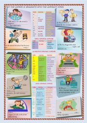 English Worksheet: WORD FORMATION : PREFIXES AND SUFFIXES
