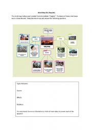 English Worksheet: Mind Map Popplet 1/2 (PAKK)