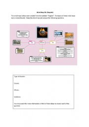 English Worksheet: Mind Map Popplet 2/2 (PAKK)