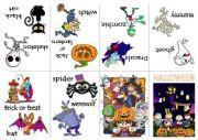 English Worksheet: Halloween vocabulary book