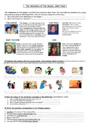 Tom Sawyer characters (updated)