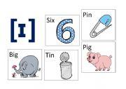 English Worksheet: Pronunciation Game. Sound  ɪ