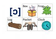 English Worksheet: Pronunciation Game. Sound [ɔ]