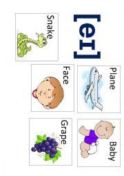 English Worksheet: Pronunciation Game Part 2. Sound eɪ