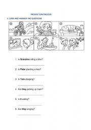 English Worksheet: primary level