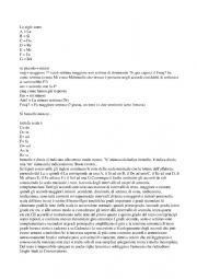 Italian to English guitar chords