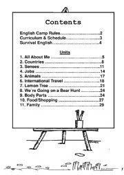 Camp Book Template