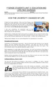 How university changed my life
