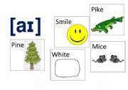 English Worksheet: Pronunciation Game. Sound aɪ