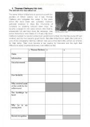English Worksheet: Unsung heroes who shaped history