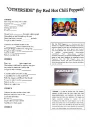 English Worksheet: Otherside - Red Hot Chili Peppers