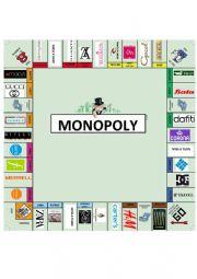 English Worksheet: Monopoly