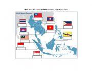 English Worksheet: Name the Asean Countries