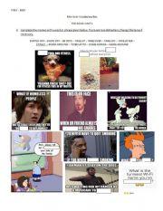 GOLD FCE Vocabulary UNIT 1 (Memes)
