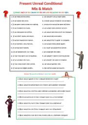 Second Conditional Mix-and-Match: Business English