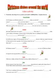 Christmas dishes around the world