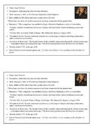 English Worksheet: Testing