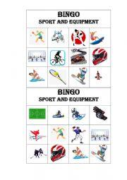 BINGO Sports and Equipment