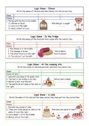 English Worksheet: Pigga Peg �Fruit Day�