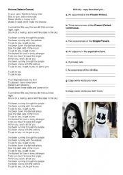 English Worksheet: Music Activity: Wolves (Selena Gomez)