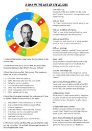 Reading - A Day In The Life of Steve Jobs - Authentic Material