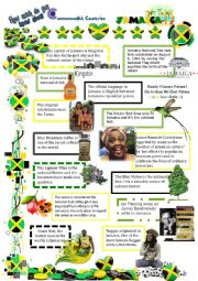 English Worksheet: Commonwealth Countries-Jamaica(8)