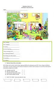 English Worksheet: 2nd grade exam