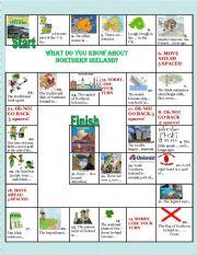English Worksheet: boardgame