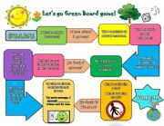 English Worksheet: Let�s go green!