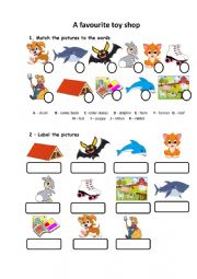 English Worksheet: Spell-check for YLE Movers