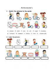 English Worksheet: PreA1 Movers