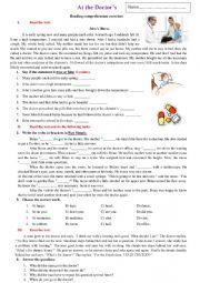 English Worksheet: ....