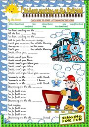 ´I,VE BEEN WORKING ON THE RAILROAD´ SONG