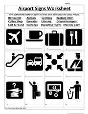 Airport Worksheet