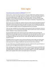 English Worksheet: Dr. Elsie Inglis
