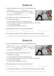 English Worksheet: Street Art