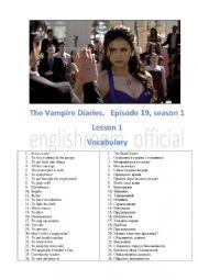 Vampire diaries Episode 19 Season 3