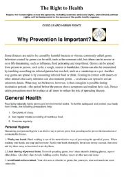 Why is prevention important?