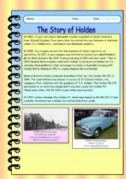 The Story of Holden