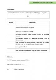 English Worksheet: Spiderman Far From Home Worksheet 3