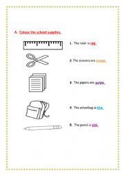 classroom subjects